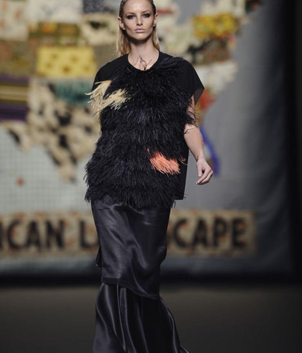 Ana Locking: riqueza cromática y de texturas