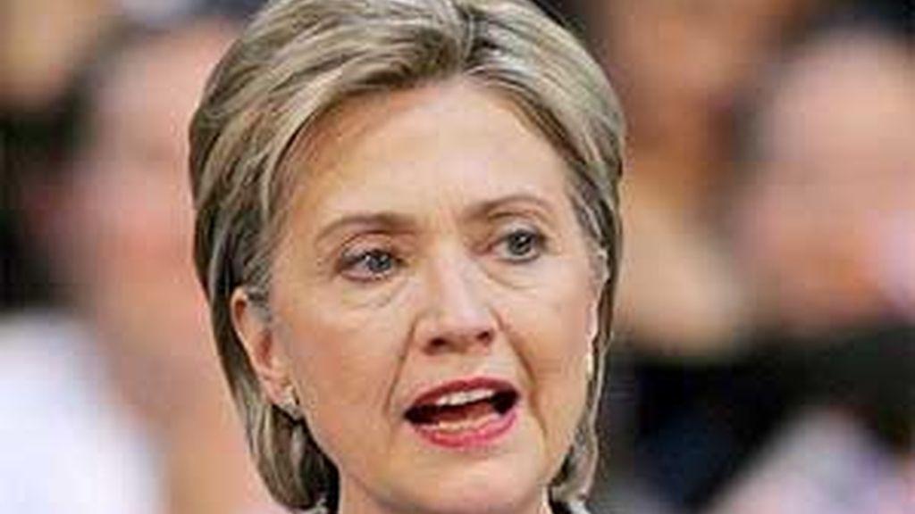 Imagen de archivo de Hillary Clinton. Foto: EFE.