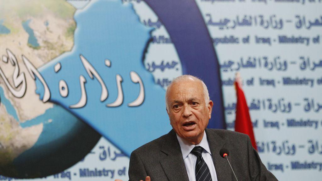 El secretario general de la Liga Árabe, Nabil Elaraby