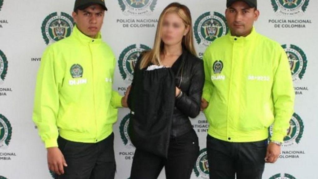 Yeimy Paola Pachón Rey detenida