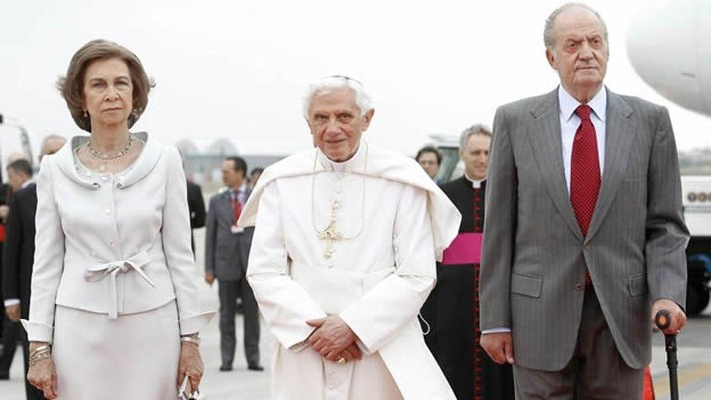El Papa Ratzinguer visitó Madrid en 2011