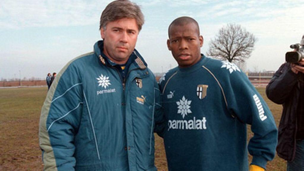 Carlo Ancelotti entreno a los 'Crociati' durante dos temporadas