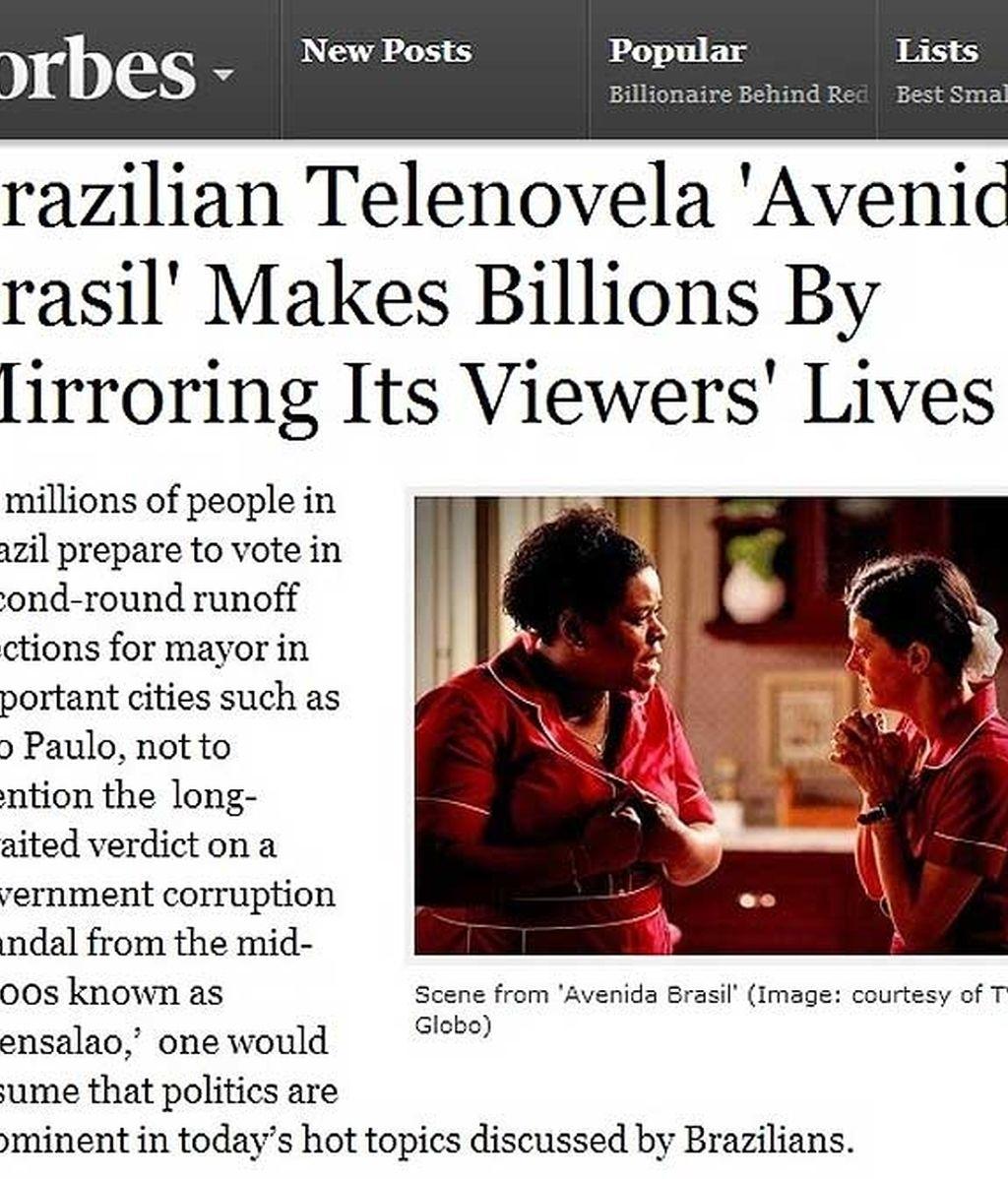 Lo que no sabías de 'Avenida Brasil'