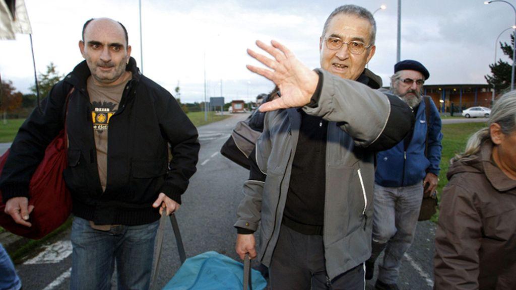 El etarra Troitiño sale de la prisión coruñesa de Teixeiro
