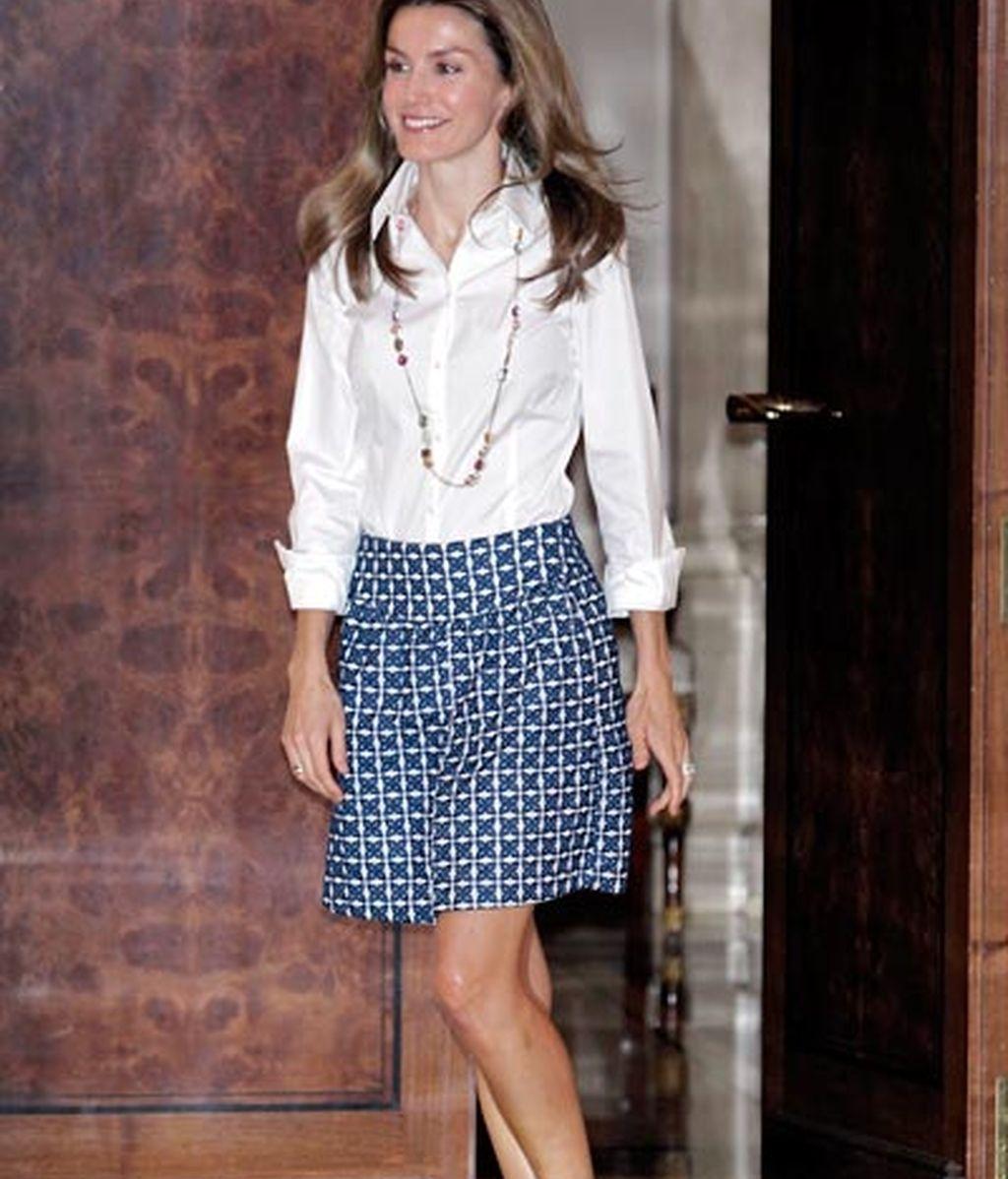Las faldas de Letizia