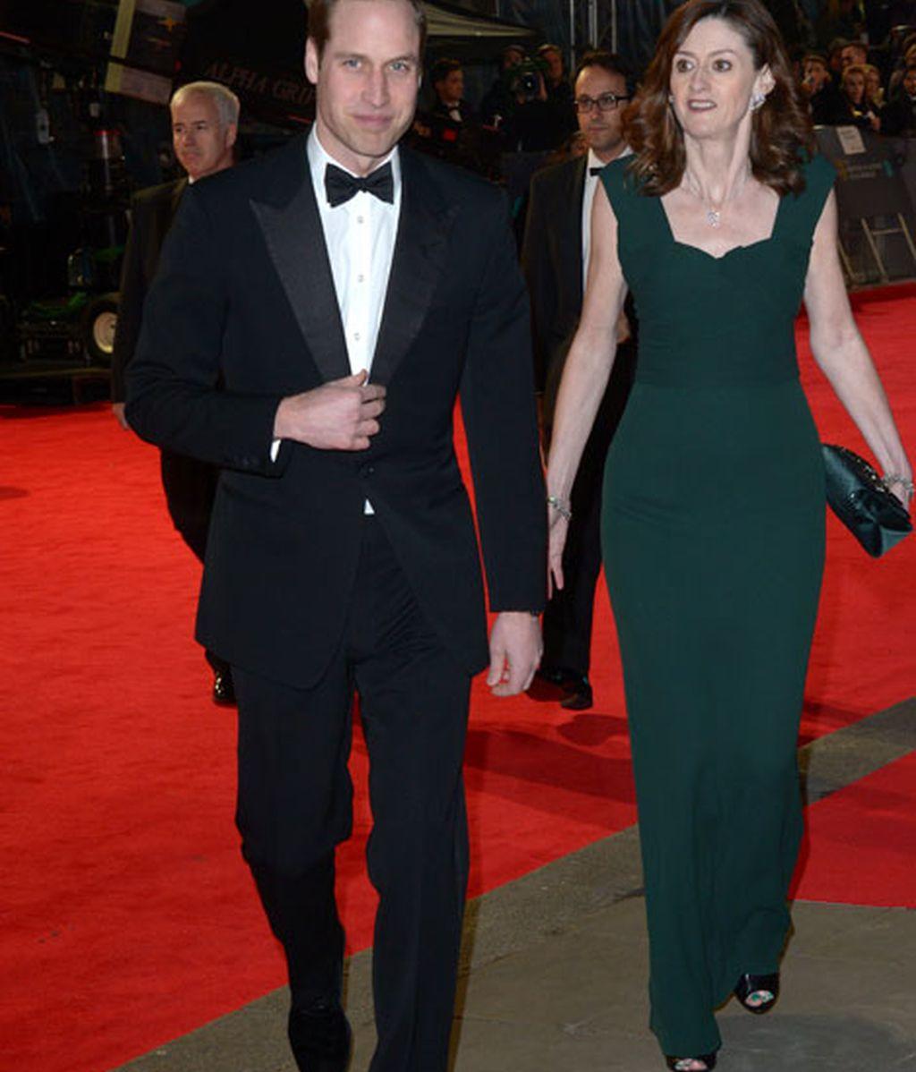 La esperada presencia del príncipe Guillermo, que llegó sin Kate Middleton