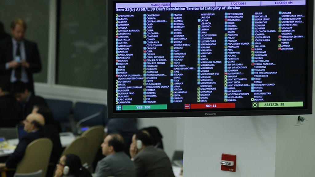 La ONU, contra la anexión rusa de Crimea y Sebastopol