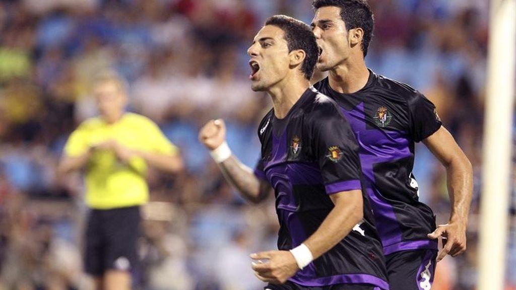 Liga BBVA, jugadores, Valladolid, Óscar,