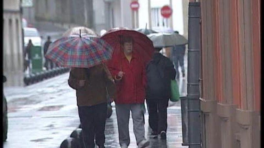 El mal tiempo vuelve a Galicia
