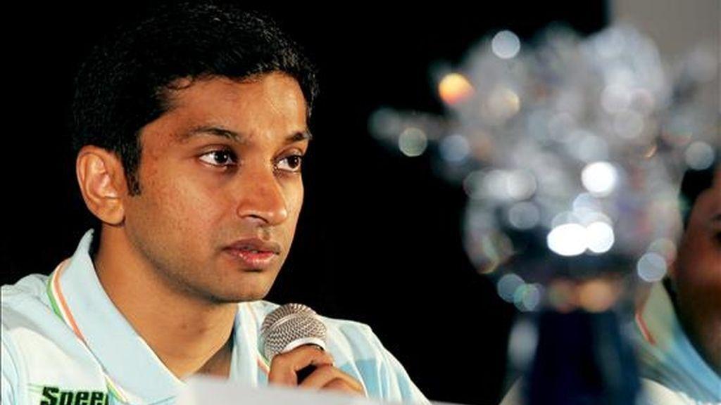 El piloto de Fórmula Uno indio Narain Karthikeyan. EFE/Archivo