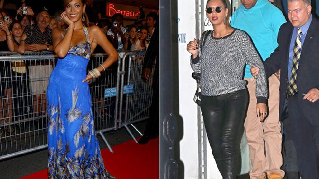 Beyoncé, 28 kilos