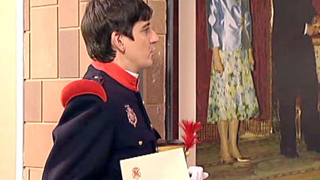 El Rey invita a merendar a los 'Rancios'