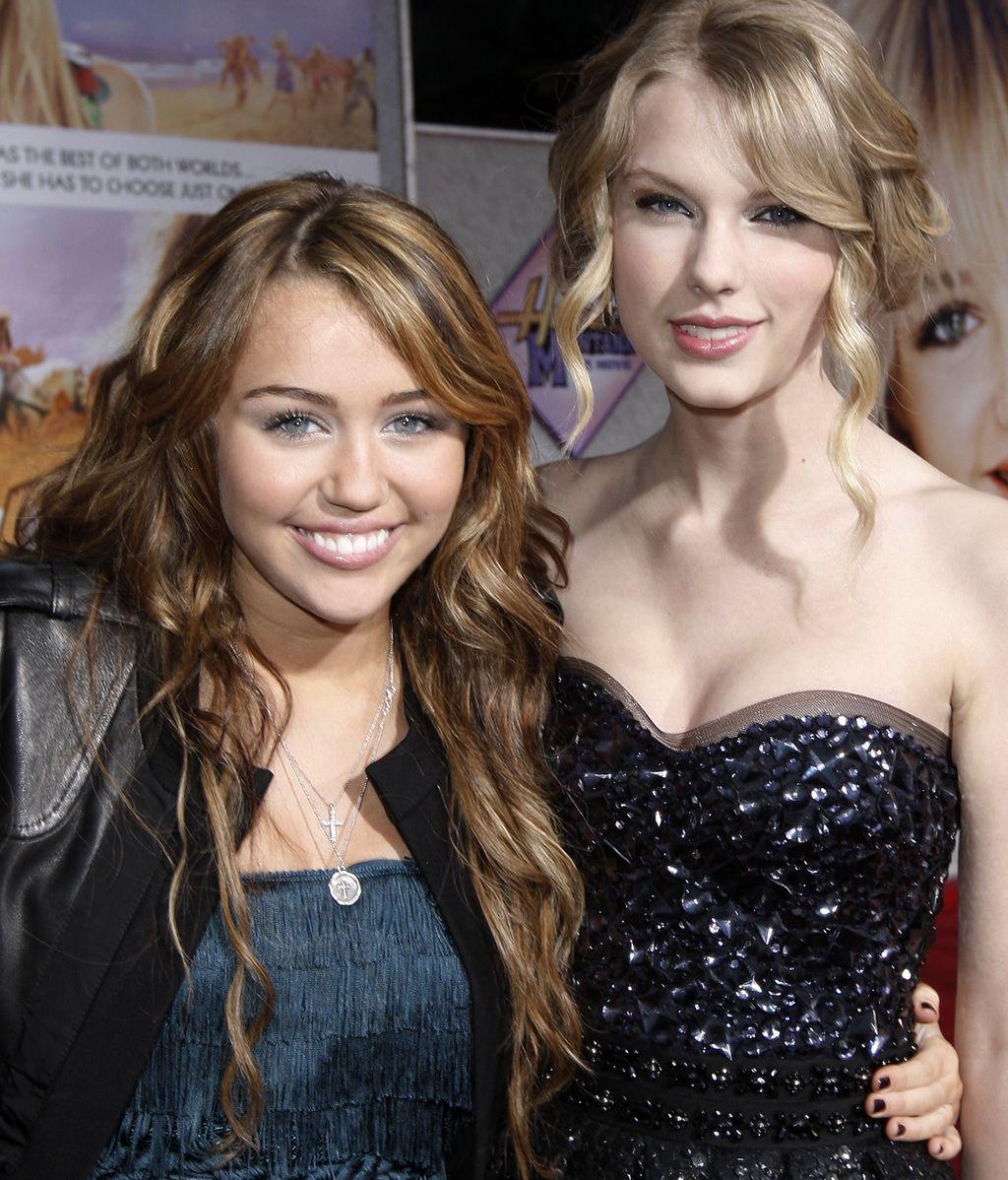 Miley Cyrus y Taylor Swift