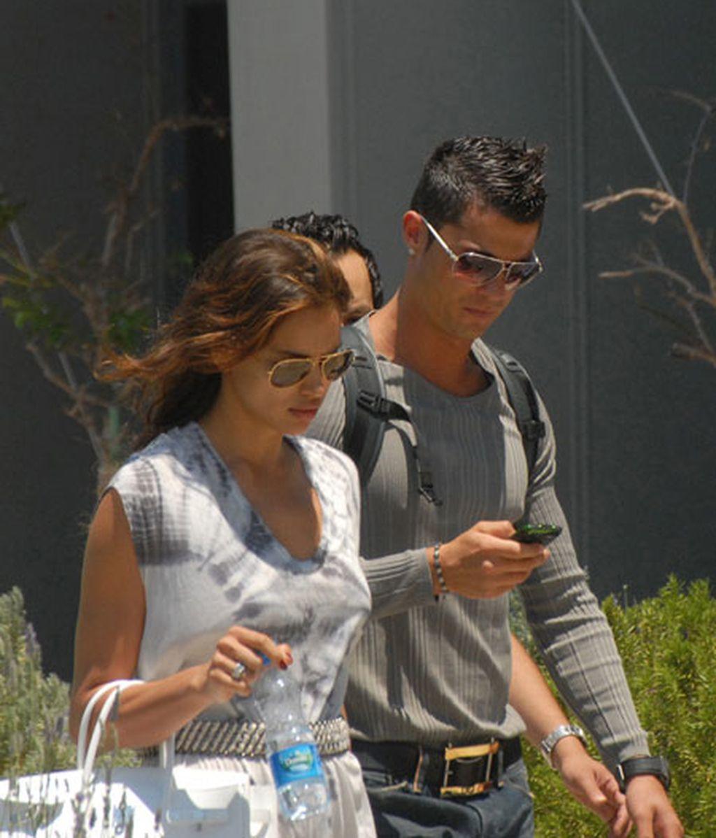 Cristiano Ronaldo e Irina Shayk, en Turquía