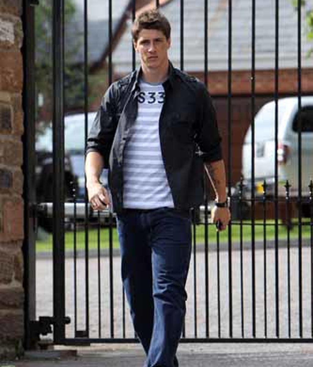 Fernando Torres presume de cochazo