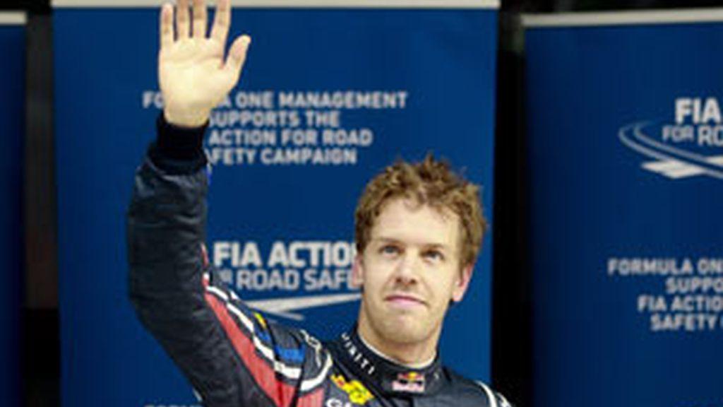 El bicampeón del mundo, ha sido el más rápido con un tiempo de 1:24.824 FOTO: EFE