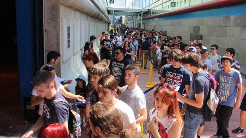 Los primeros aficionados ya se encuentran en IFEMA para disfrutar de Gamergy