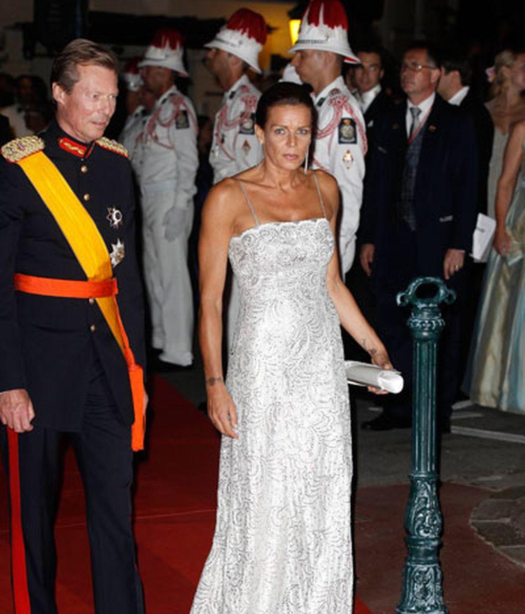 Estefanía de Mónaco y el Gran Duque Enrique de Luxemburgo