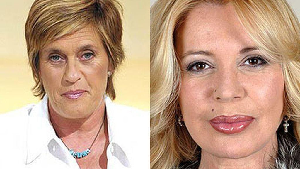 Bárbara Rey y Chelo García Cortés dejaron sin habla a media España