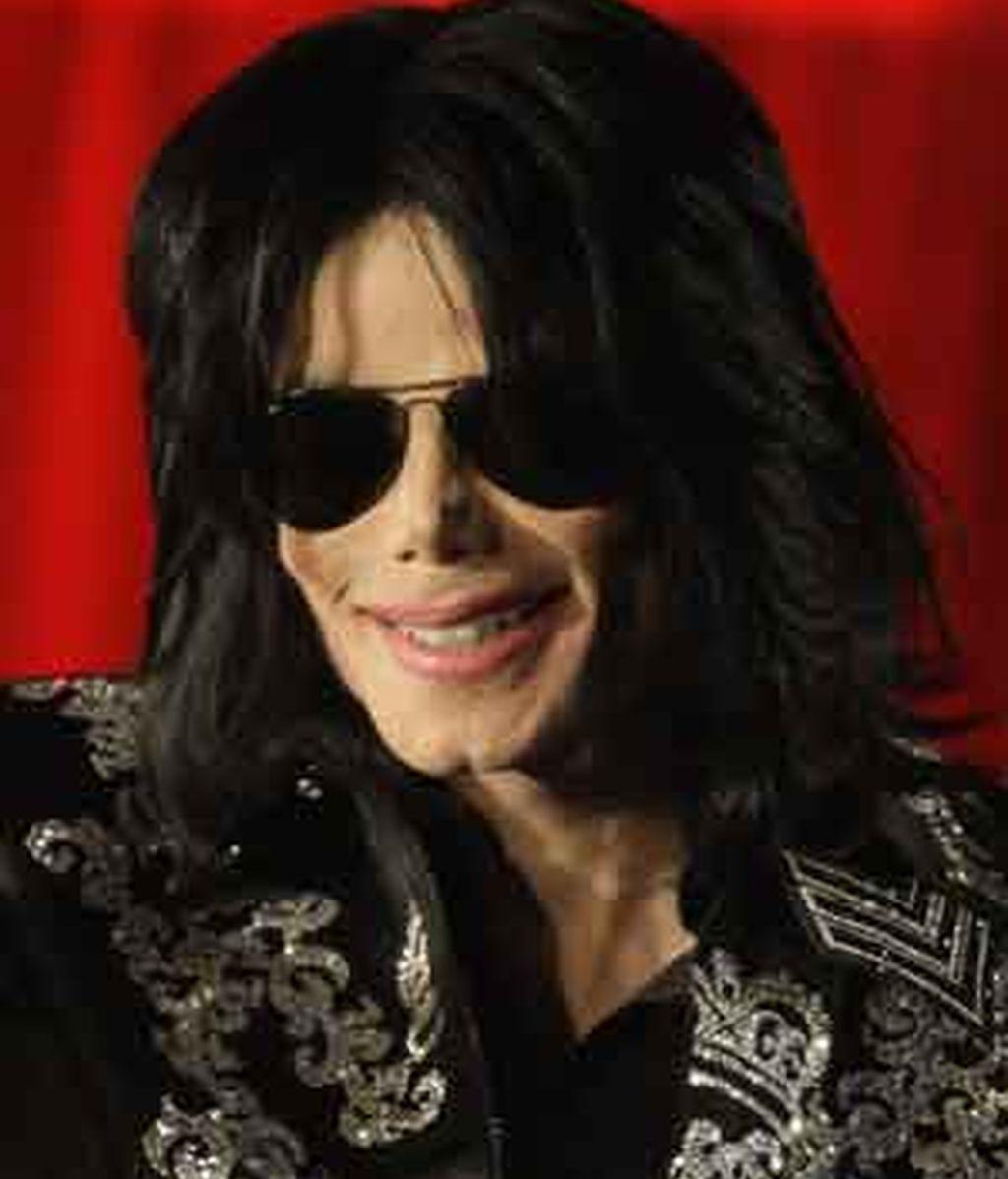 Michael Jackson antes de un concierto en Londres FOTO: GTRES