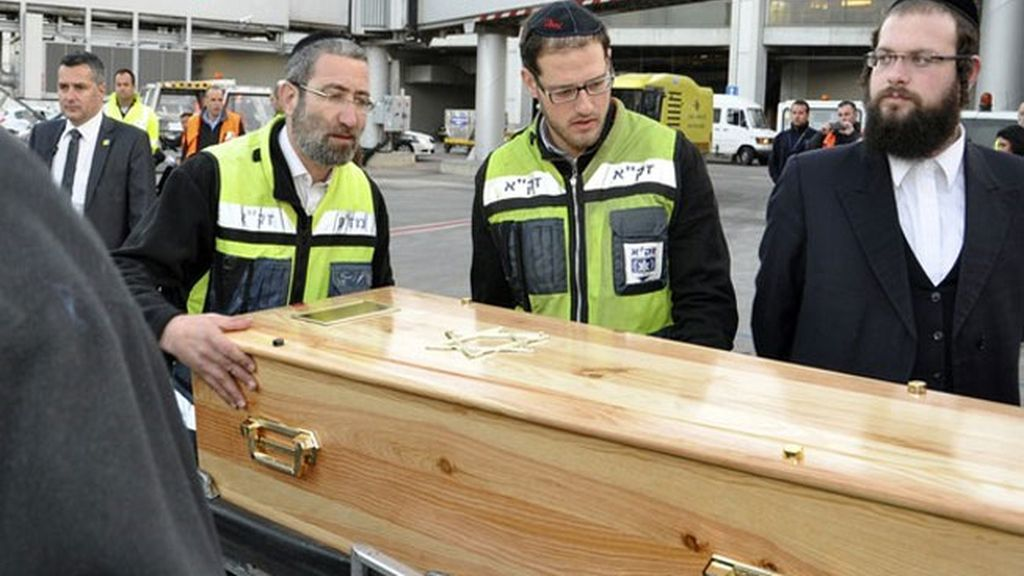 Último adiós a las víctimas de Touluse
