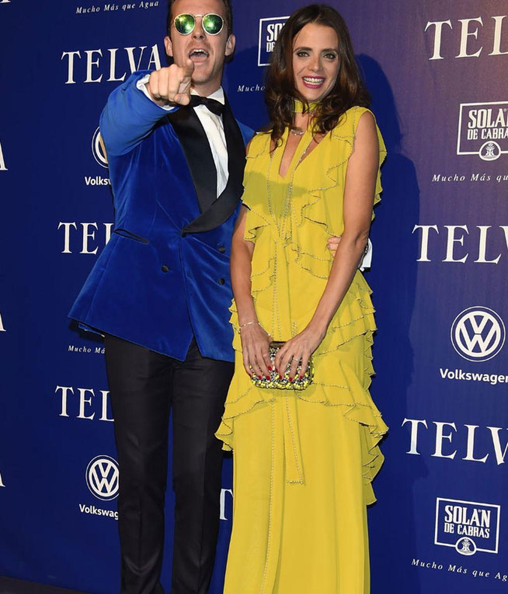 Macarena y Aldo, los más coloridos