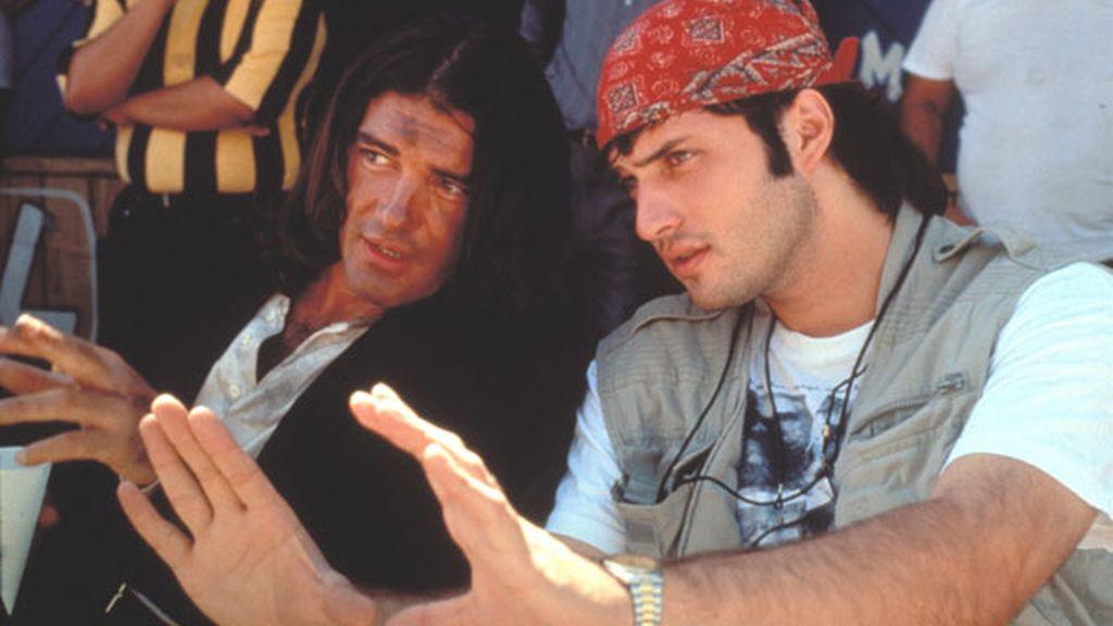 Antonio Banderas y Robert Rodríguez