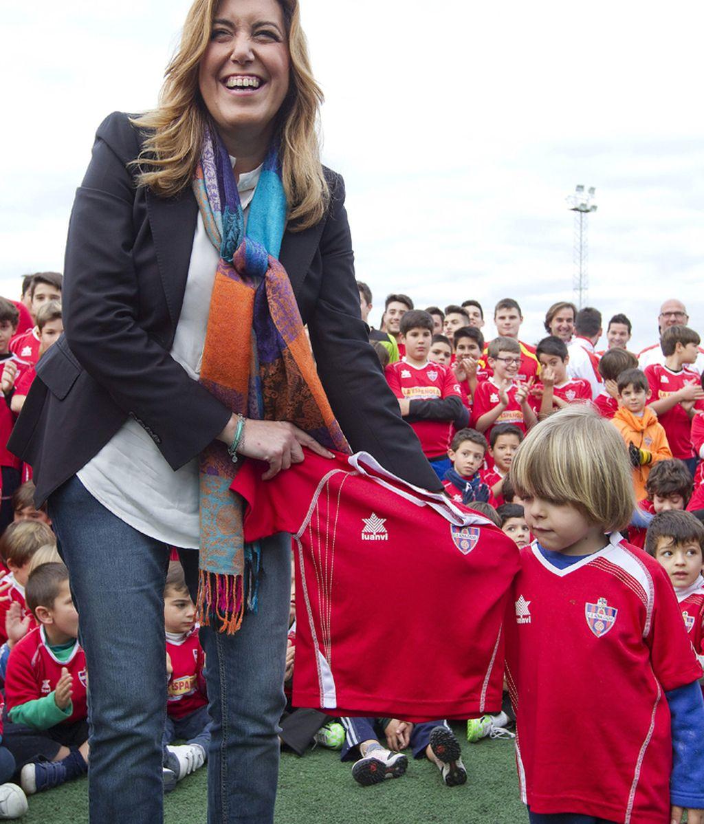 """Díaz dice a Maíllo que es """"momento de los andaluces"""" al no haber estabilidad"""