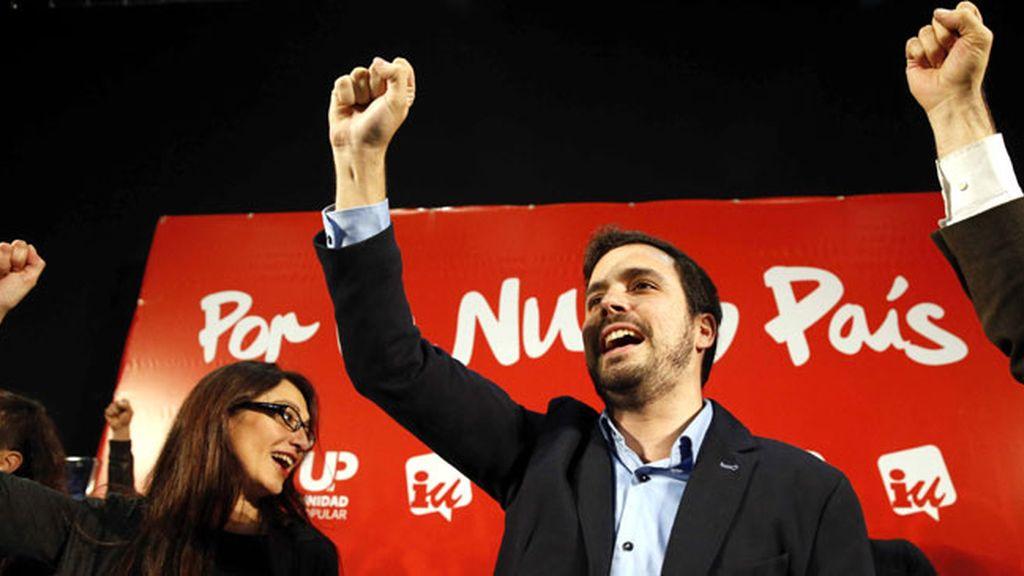 Cierre de Campaña de Alberto Garzón, IU