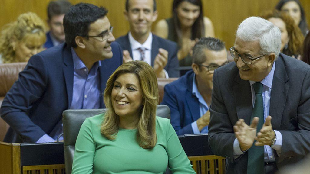 Susana Díaz, investida presidenta de Andalucía con el apoyo de Ciudadanos