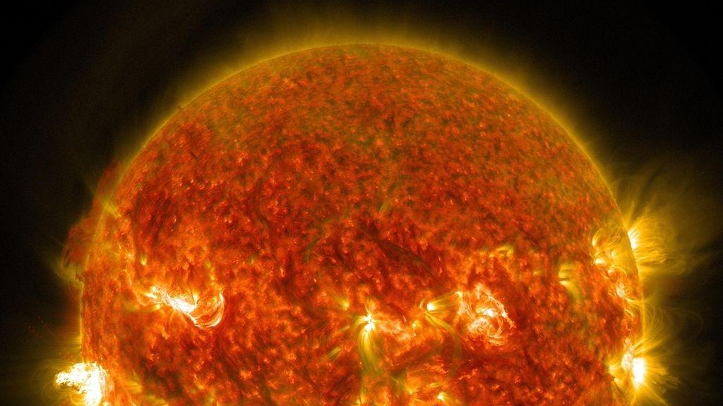 Seis grandes erupciones solares en ocho días