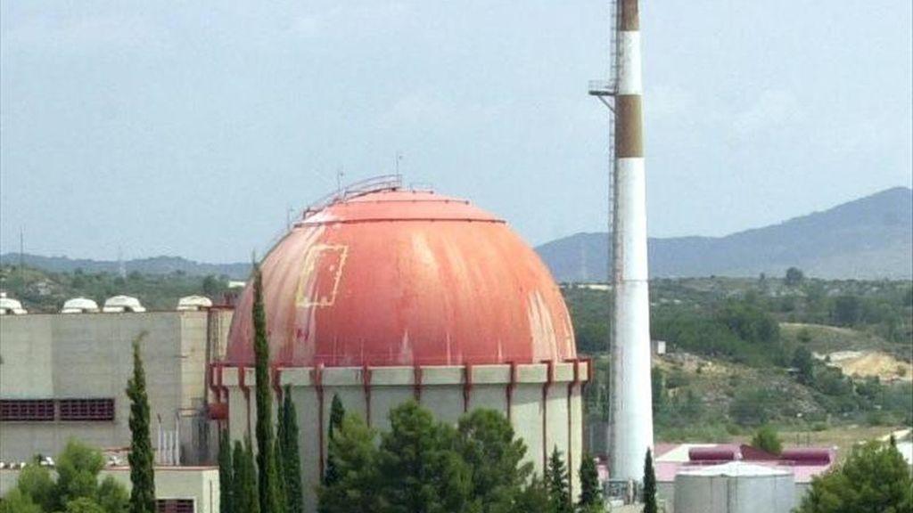 En la imagen, la central nuclear de Zorita, en Guadalajara. EFE/Archivo