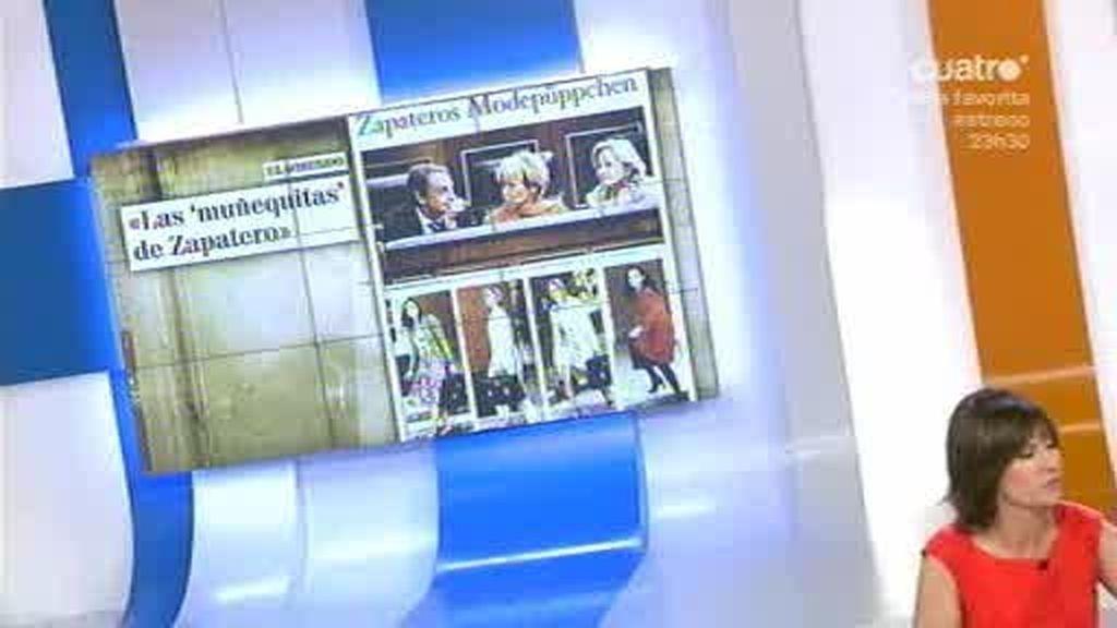 Un periódico alemán tacha a las Ministras de 'muñequitas'