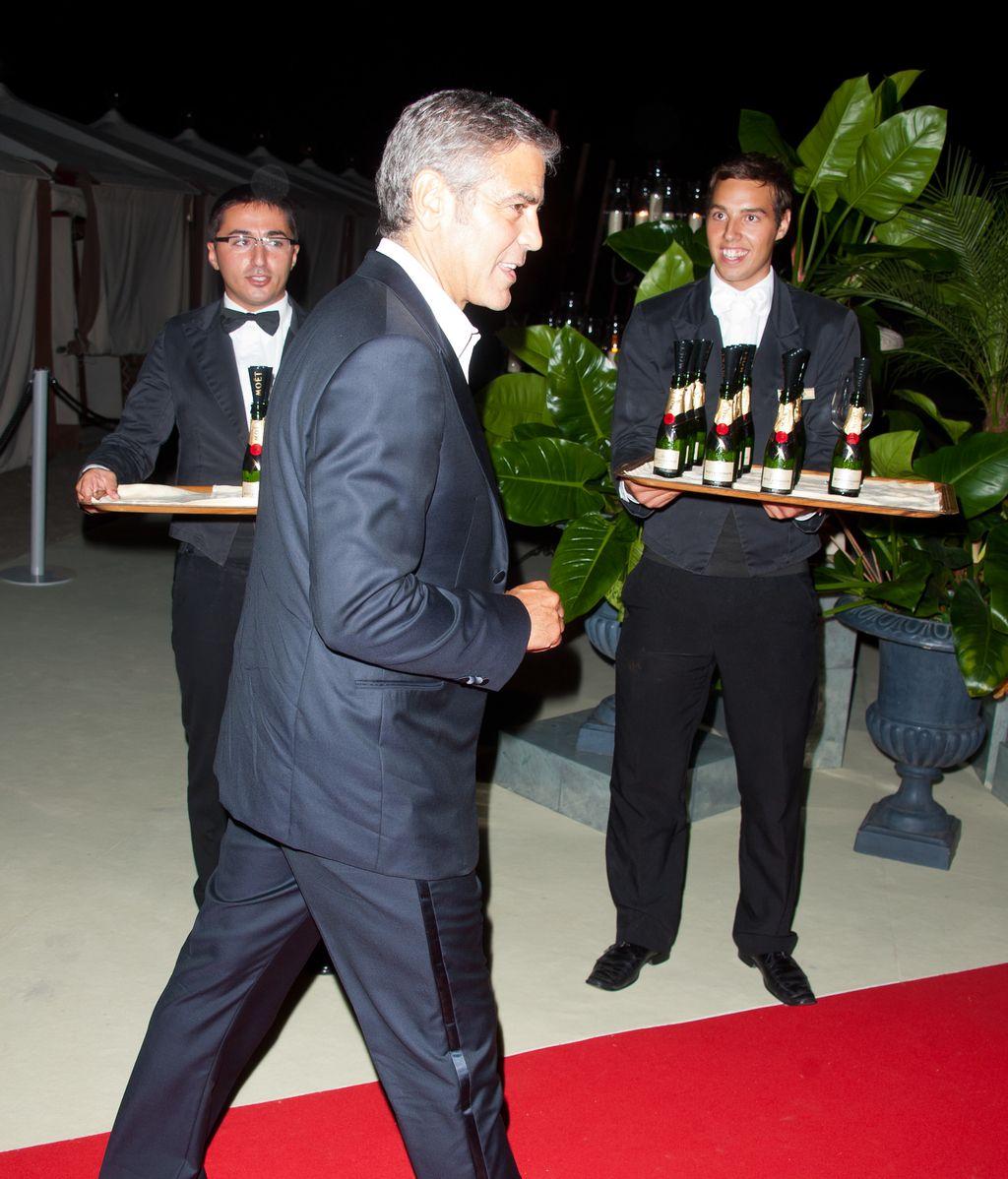 George Clooney, en el festival de Venecia