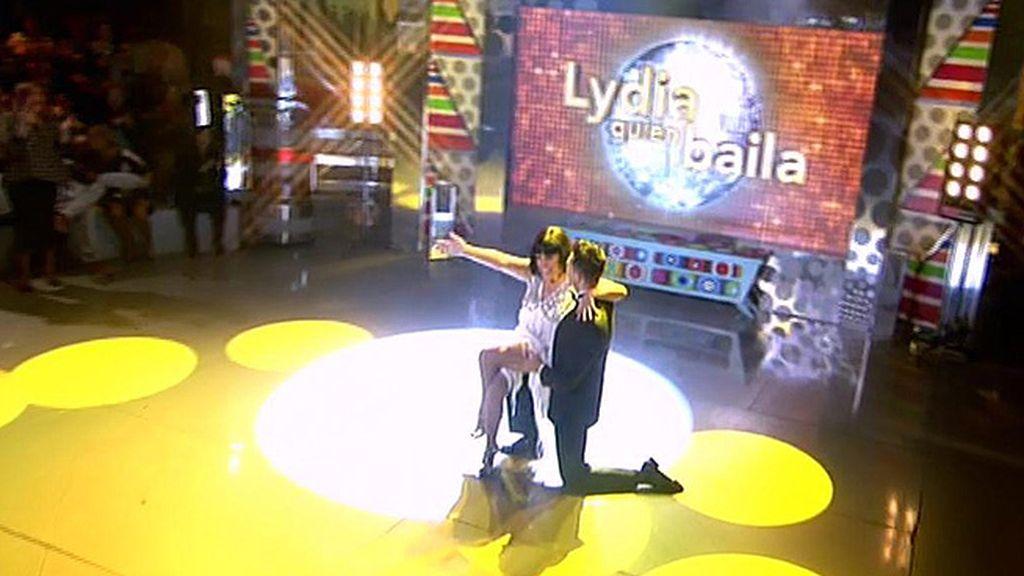 Con una pieza de Chicago, así empieza la sección de '¡Lydia quién baila!'