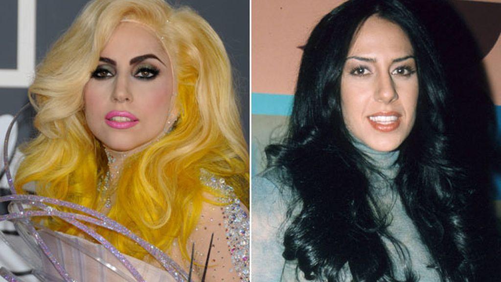 Lady Gaga y Mónica Naranjo