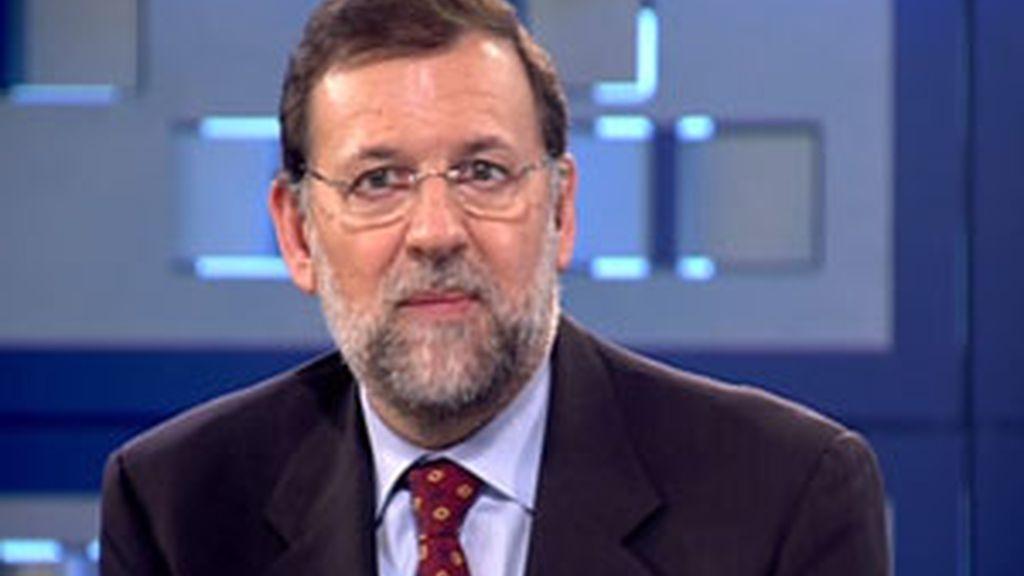 Mariano Rajoy habla sobre la situación económica. Vídeo: Informativos Telecinco