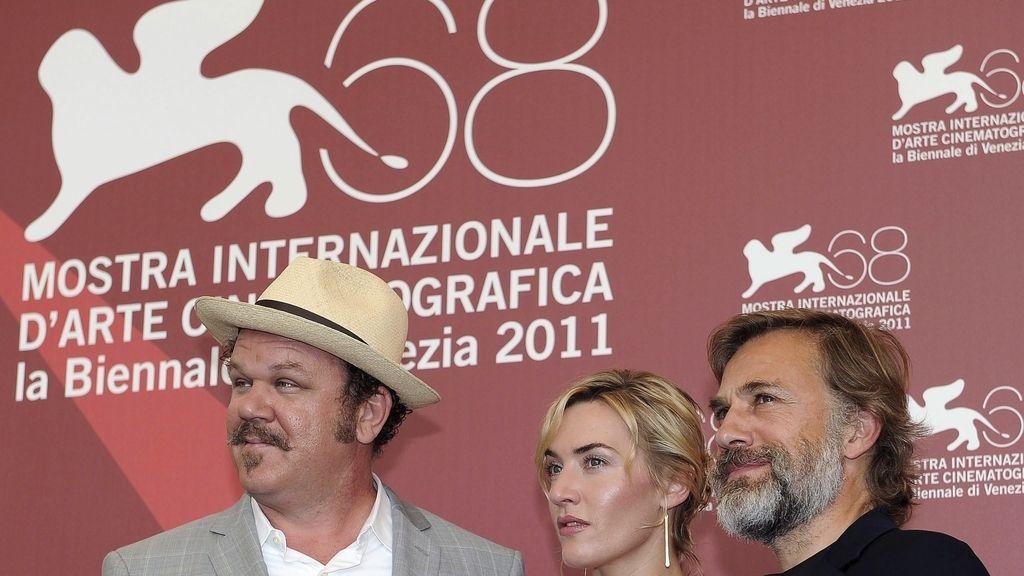 Kate Winslet estrena la película de Polanski en Venecia