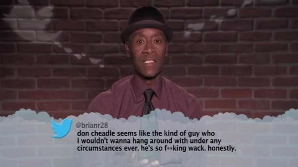 Don Cheadle, Twitter