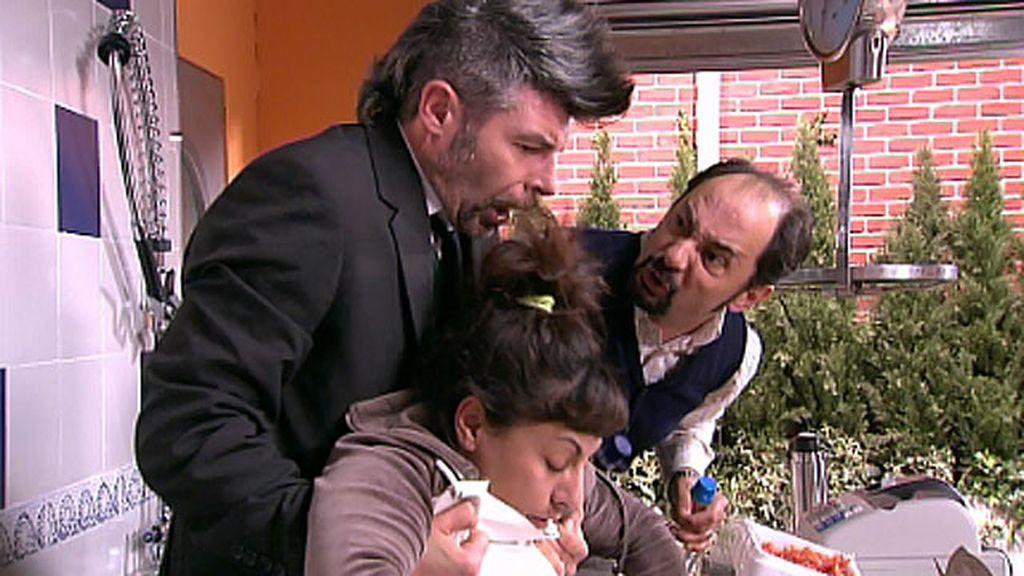 Berta quiere salvar su matrimonio y secuestra a Toñín