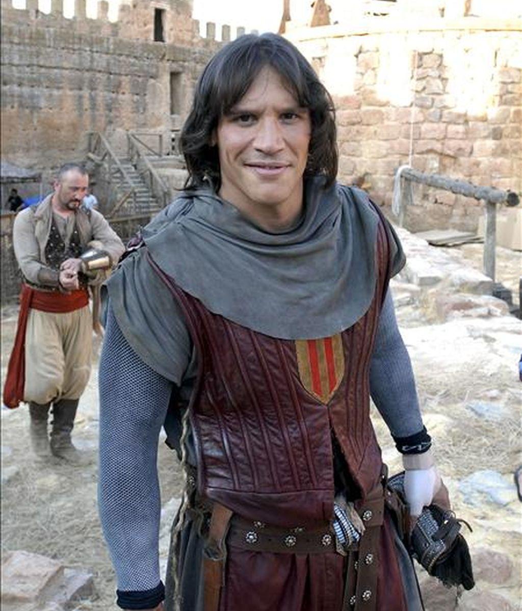 En la foto, el actor Sergio Peris, que interpreta al Capitán Trueno. EFE/Archivo