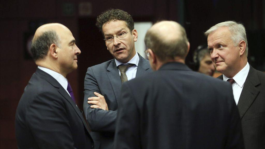 Reunión de ministros de finanzas de la zona Euro