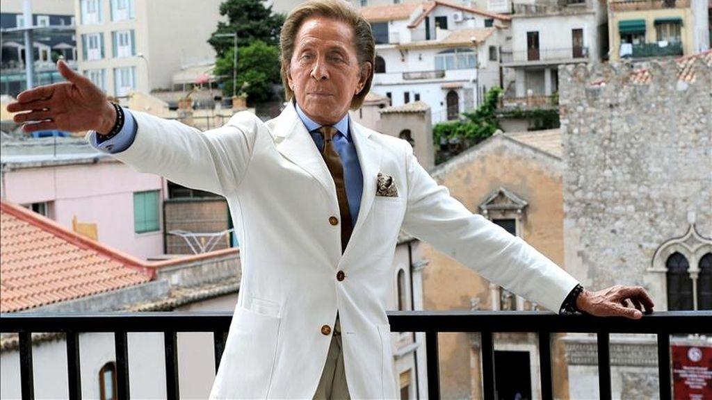 """El diseñador italiano Valentino Garavani, """"Valentino"""". EFE/Archivo"""