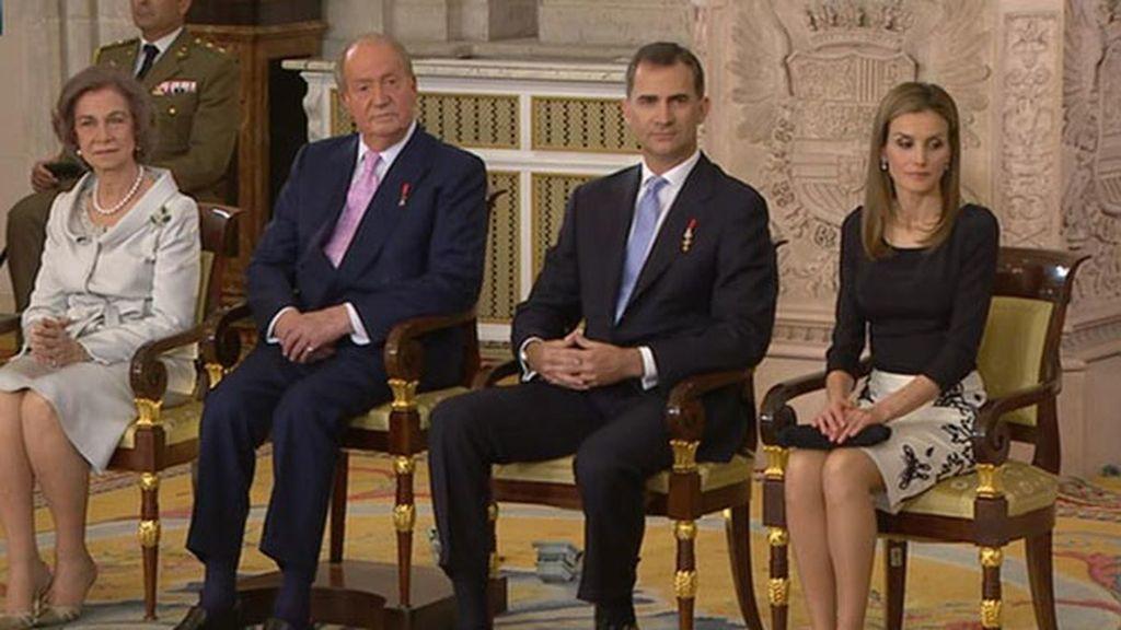 La imagen del 'relevo' en la Casa Real