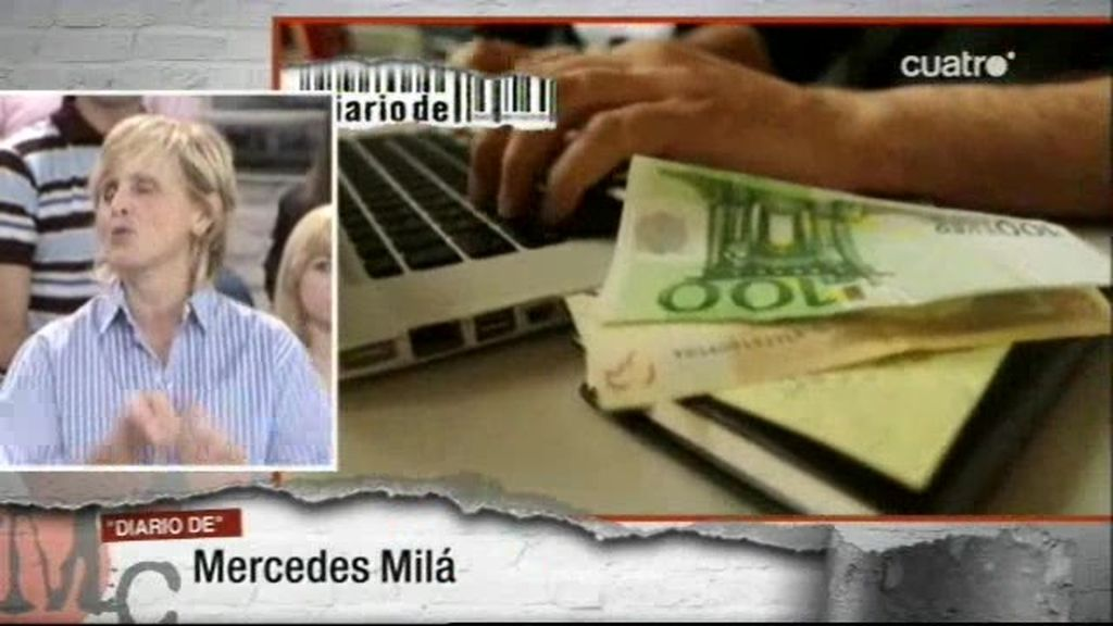Billetes falsos en Diario De