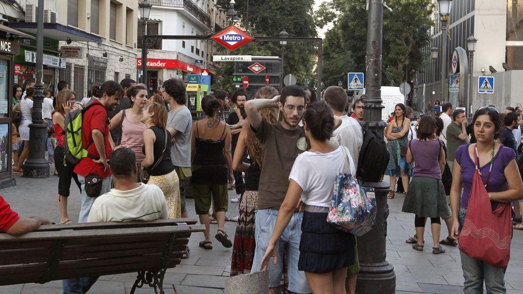 Protestas de los vecinos de Lavapiés
