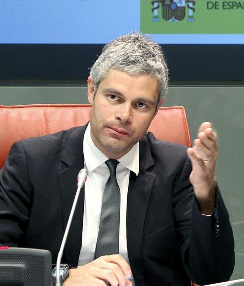 El ministro francés de Asuntos Europeos, Laurent Wauquiez. EFE/Archivo