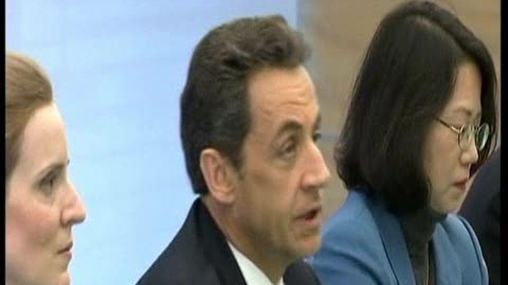 Sarkozy en Japón