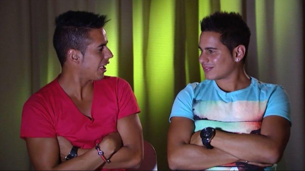 Álvaro, Luis Carlos y el 'vehículo del amor'