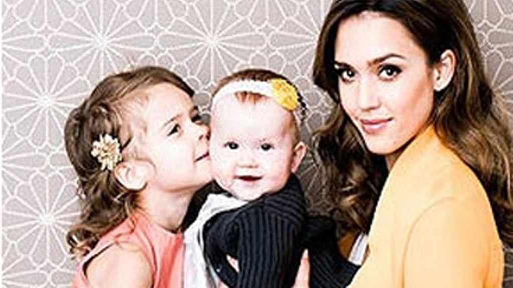 Honor Marie Warren, Haven Garner Warren, hijos de Jessica Alba